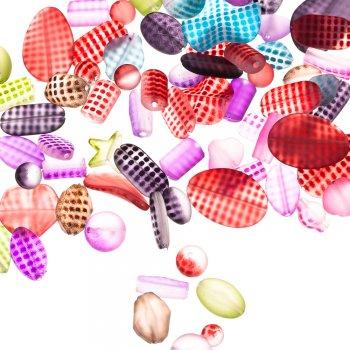 Пластик з прогумованим покриттям картатий