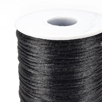 Шнур полиэстеровый 2 мм чорный