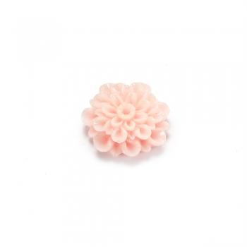 Пластикові клейові елементи. Квітка персикова
