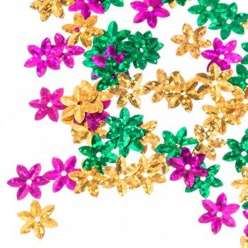 Пайетки цветок 16 мм