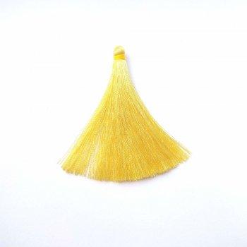 Текстильні китиці світло-жовті