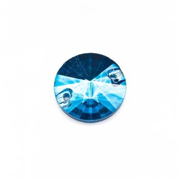 Стрази скляні пришивні (уп3шт)