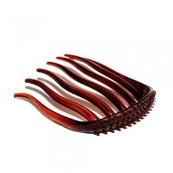 Гребінь пластиковий коричневий