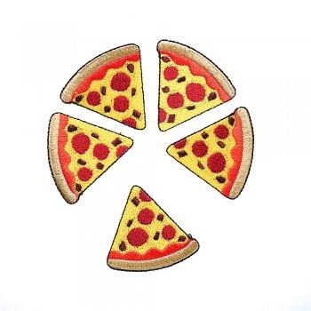 Тканевая нашивка Пицца