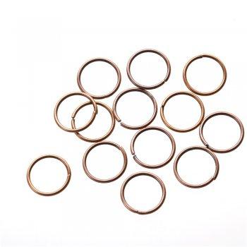 Біжутерні колечка металеві сполучні